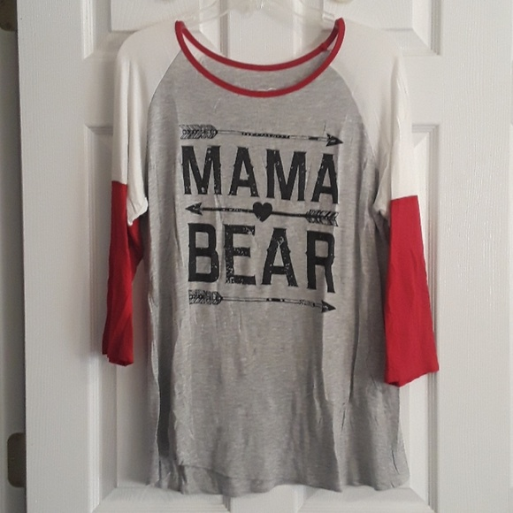 a83fa730 Color Bear Tops | Mama Bear Arrow Shirt | Poshmark
